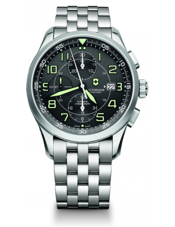 VICTORINOX Swiss Army 241620 AirBoss Mechanical Chronograph Watch