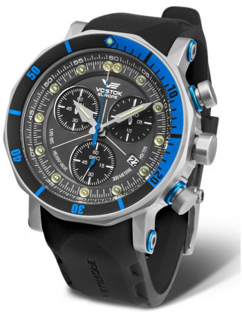 Vostok-Europe 6S30/6205213 Lunokhod 2 Grand Chrono watch
