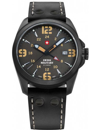 Swiss Military by CHRONO 29000BPL-8LBK Dual Time Watch