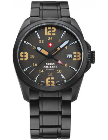 Swiss Military by CHRONO 29000BPL-8M Dual Time Watch