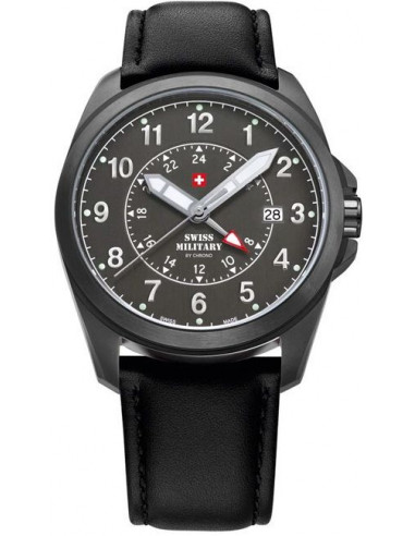 Swiss Military by CHRONO 29000BPL-88LBK Dual Time Watch