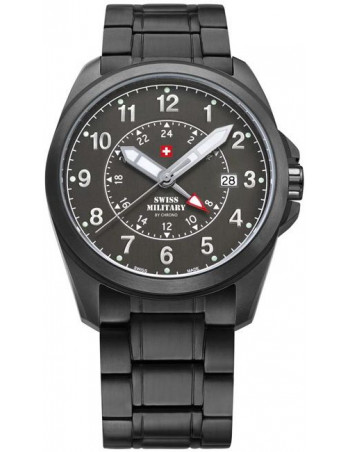 Swiss Military by CHRONO 29000BPL-88M Dual Time Watch