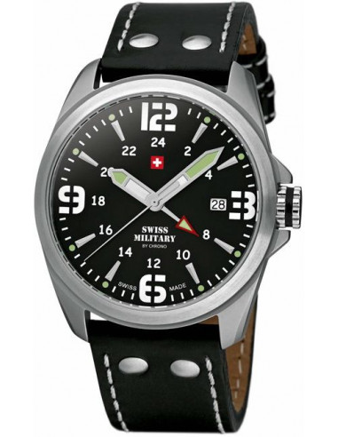 Swiss Military by CHRONO 29000ST-1L Dual Time Watch