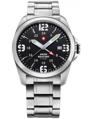 Swiss Military by CHRONO 29000ST-1M Dual Time Watch