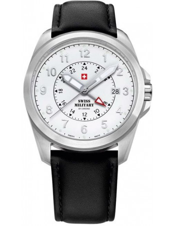 Swiss Military by CHRONO 29000ST-22LBK Dual Time Watch