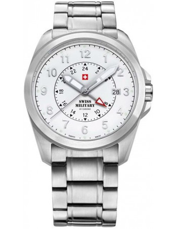 Swiss Military by CHRONO 29000ST-22M Dual Time Watch
