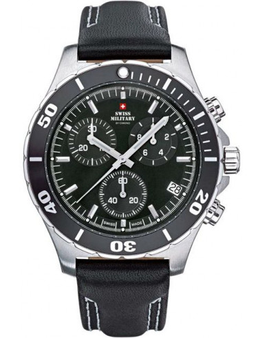 Swiss Military by CHRONO 29002ST-1LBK Champion Watch