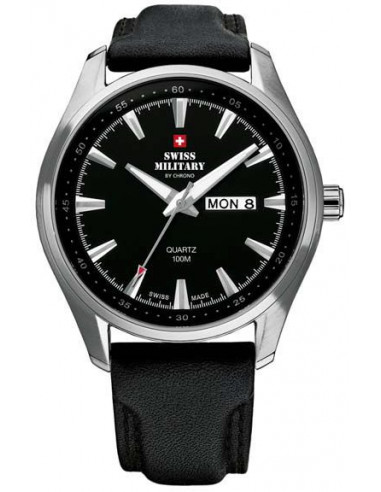 Swiss Military by CHRONO 20092ST-1L Day Date Watch