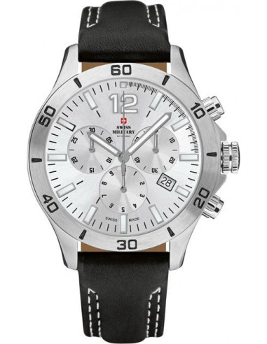 Swiss Military by CHRONO 20093ST-2LBK Chronograph Watch