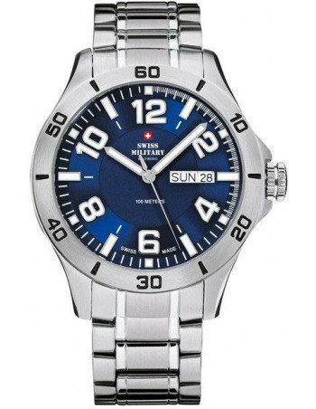 Swiss Military by CHRONO 20094ST-6M Sport Date Watch