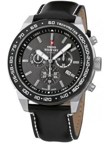 Swiss Military by CHRONO 20095ST-1LBK Speed Chronograph Watch