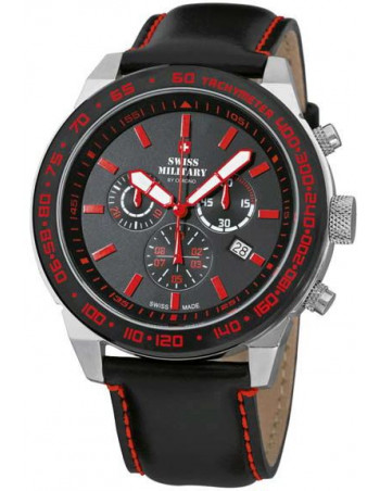 Swiss Military by CHRONO 20095ST-1L-R Speed Chronograph Watch
